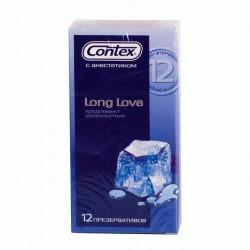 Презервативы, Контекс №12 лонг лав с анестетиком