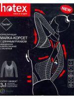 Майка-корсет корректирующая, Хотекс черная