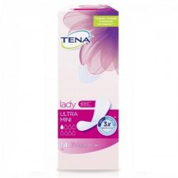 Прокладки урологические для взрослых, Тена леди №14 ультра мини