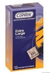 Презервативы, Контекс №12 экстра лардж большой размер